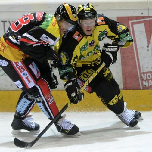 EHC Lustenau verliert das Heimspiel gegen Krain knapp mit 2:3.