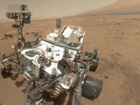 Der Mars-Rover wird nicht mit dem Joystick gesteuert.