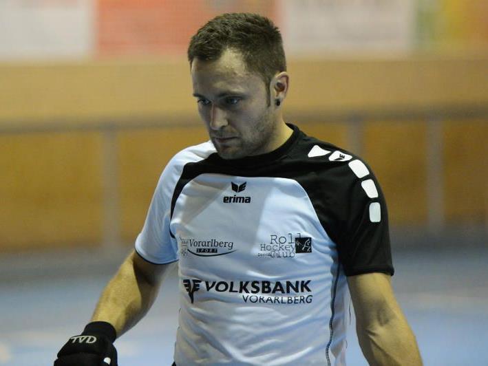 Dornbirn-Spielertrainer Dominique Kaul war nach der Niederlage in Wolfurt enttäuscht.