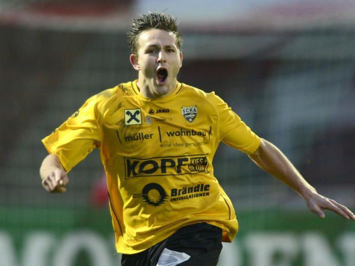 Fabian Flatz schoss das 2:1-Siegtor der Altach Amateure gegen Dornbirn.