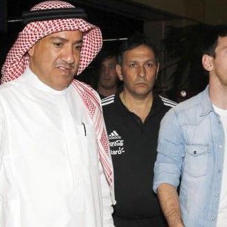 Die Anspannung steht Messi ins Gesicht geschrieben.