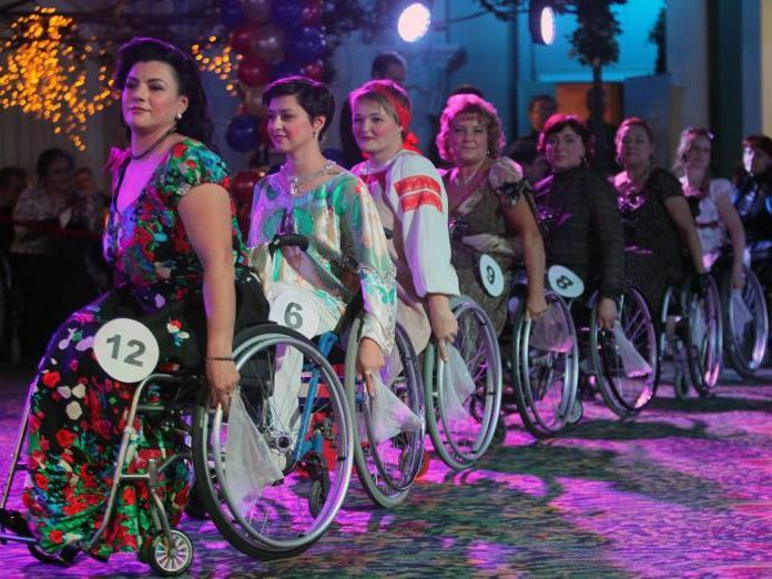 Die Wahl der Rollstuhl-Schönheitskönigin fand bereits zum zweiten Mal statt.