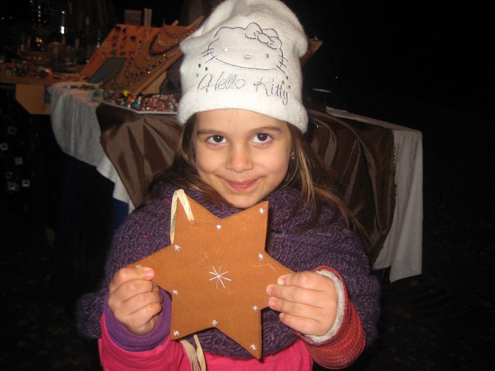 Auch Chiara war gerne dabei.