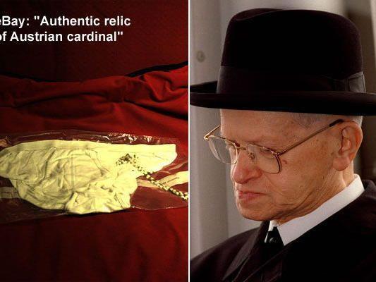 Auktion auf eBay: Wer ersteigert Kardinal Groers Unterhose?