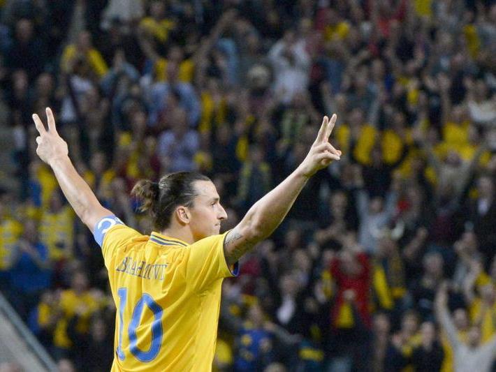 Ibrahimovic hat allen Grund, sich feiern zu lassen.