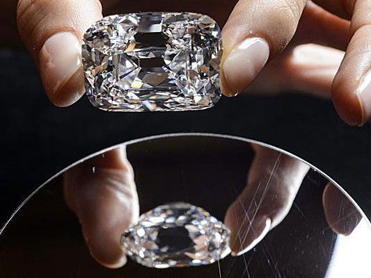 Dieser Diamant aus Habsburger Besitz ging für einen Rekordpreis über den Tisch.