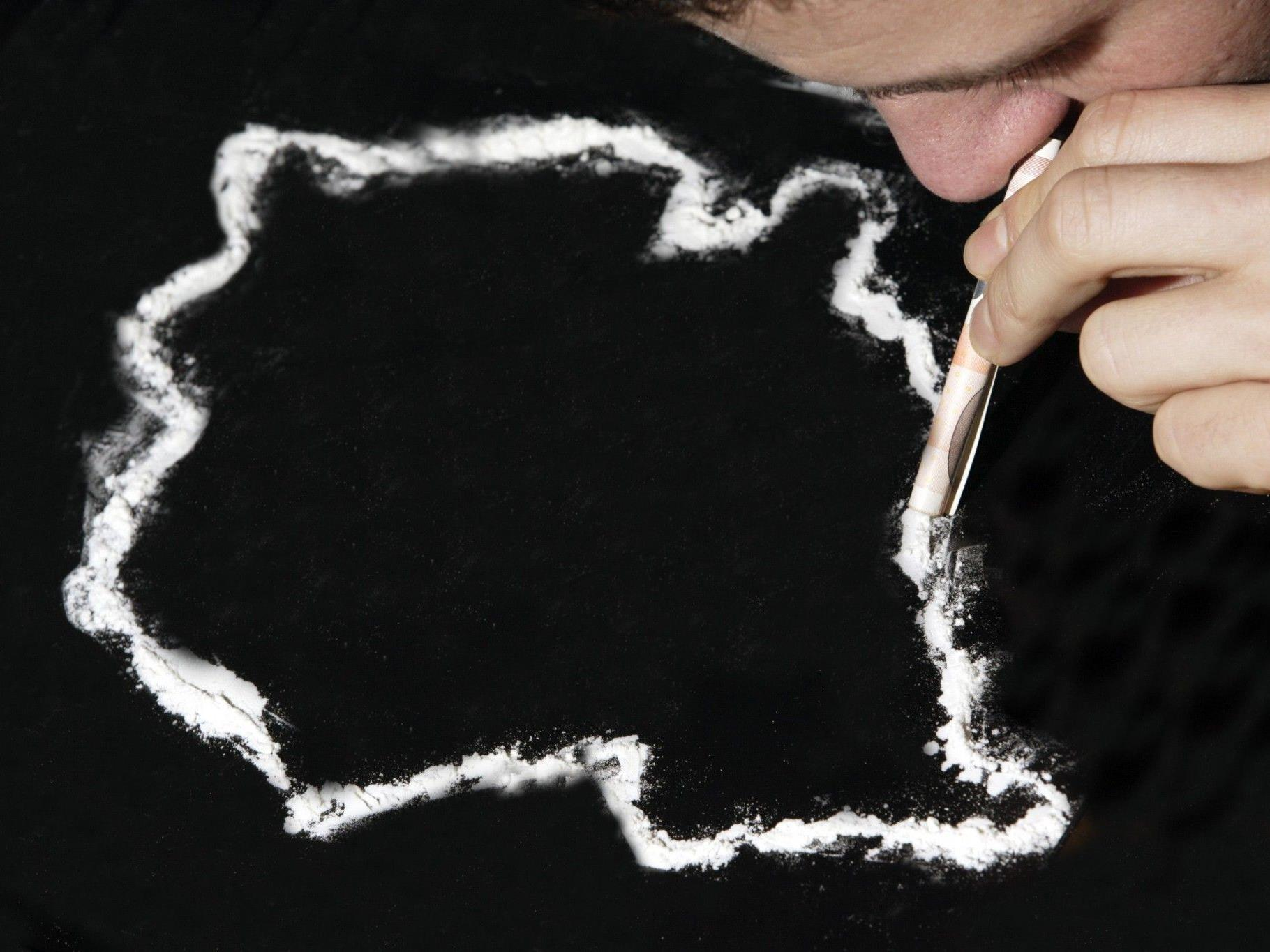 Der Kokainkonsum in Vorarlberg steigt, die Ware kommt aus der Schweiz.