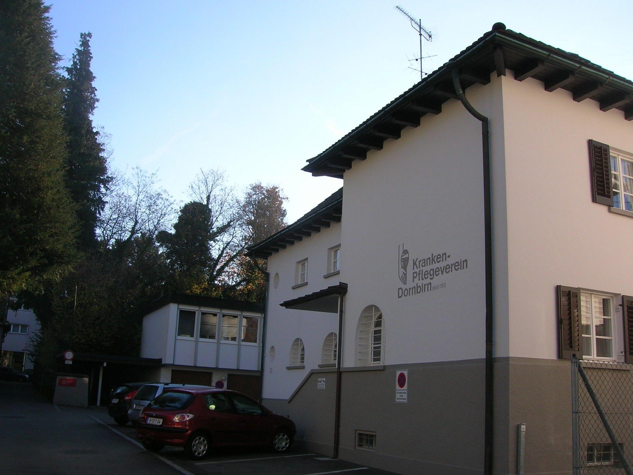 Zentrale des Krankenpflegevereines in der Annagasse.