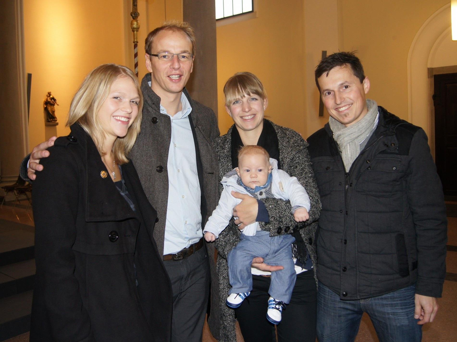 Taufe von Leo Dür