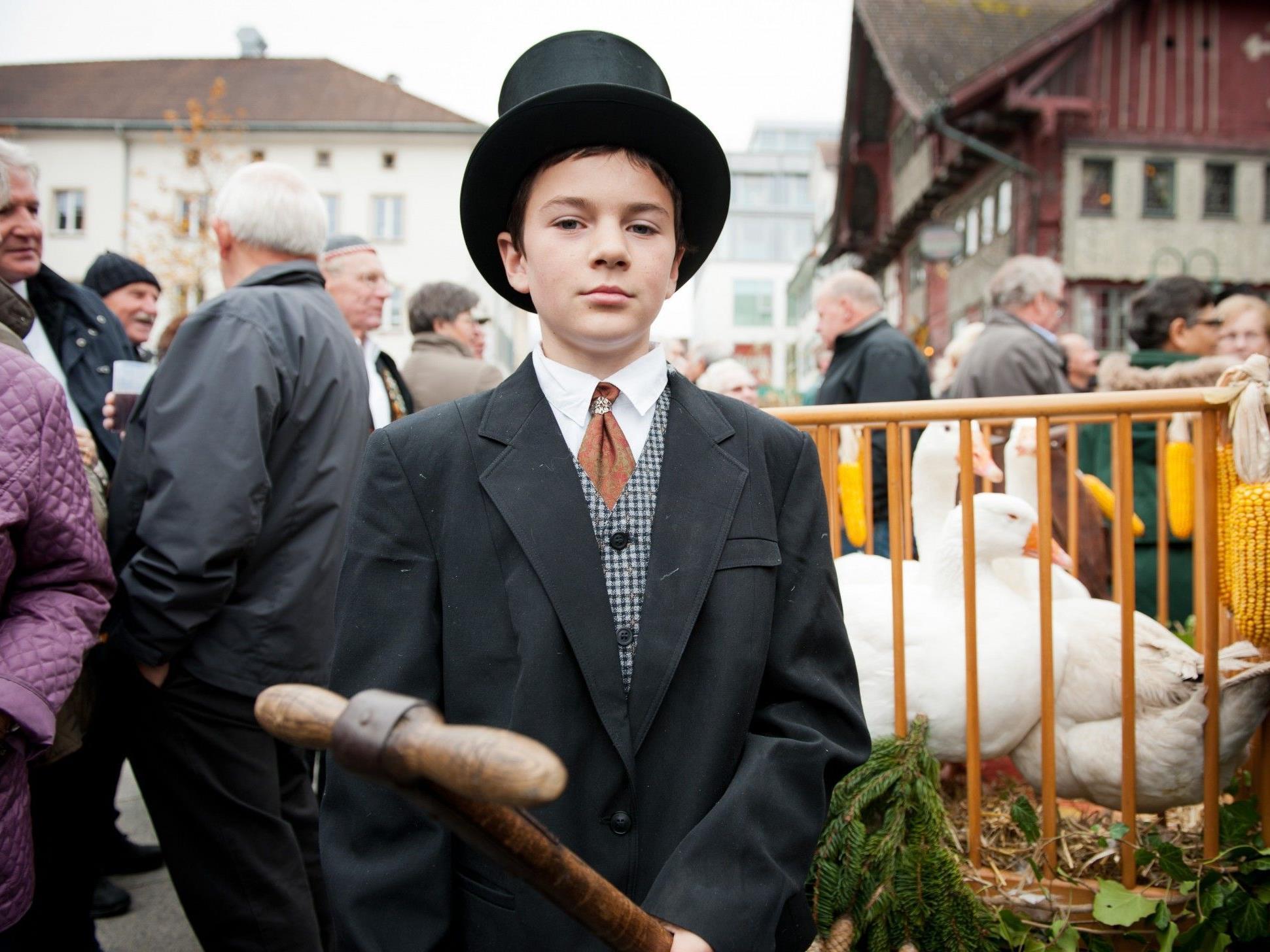 Am 9. November trifft sich wieder ganz Dornbirn auf dem Martinimarkt.