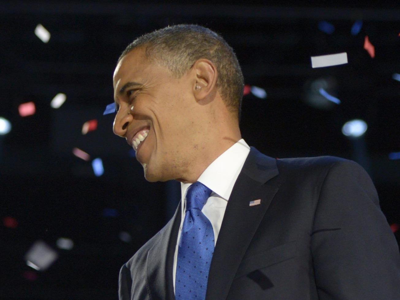Auszählung der Stimmen beendet: 50,01 Prozent für Amtsinhaber Obama.