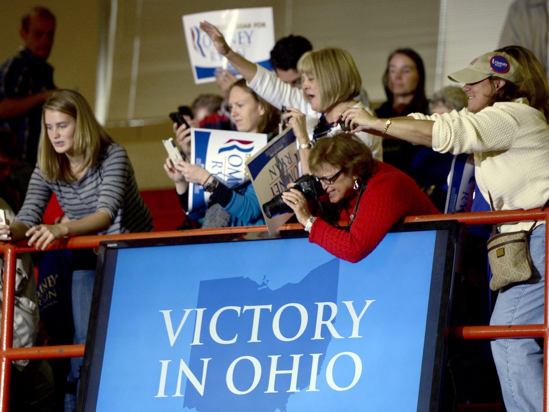Die größte Sorge bereitet die Situation in Ohio, dem womöglich wahlentscheidenden Schlüsselstaat.