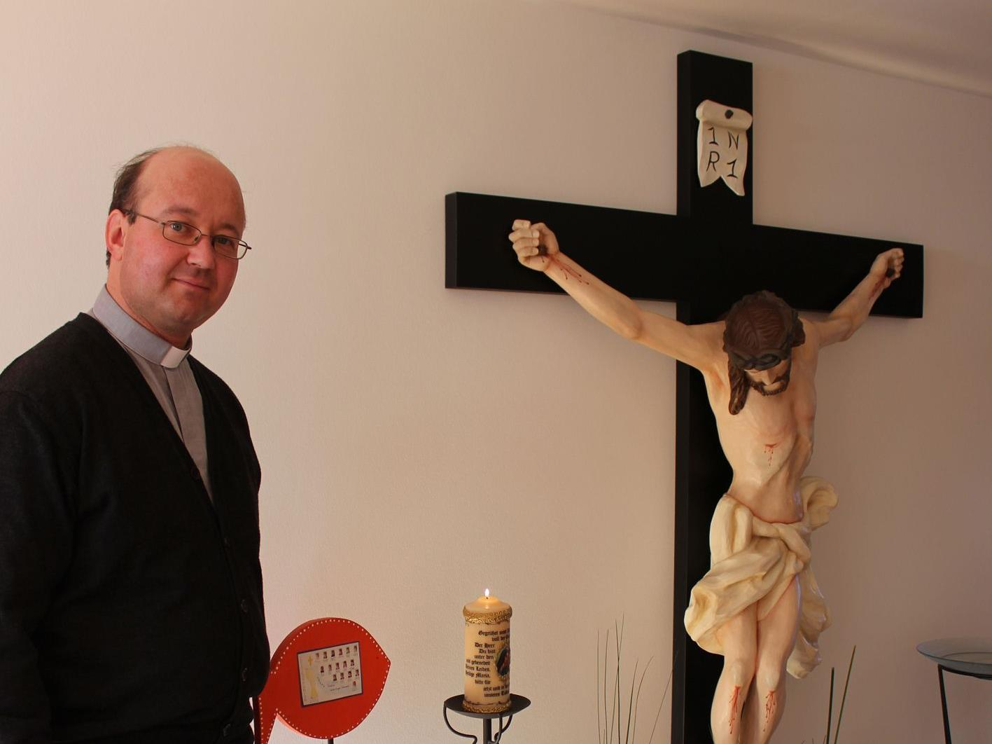 Pfarrer Ratz freut sich auf das neue Kirchenjahr.