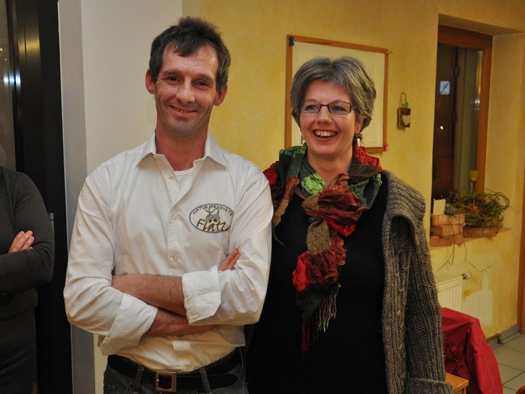 Klaus und Judith Flatz luden in ihr Naturproduktegeschäft