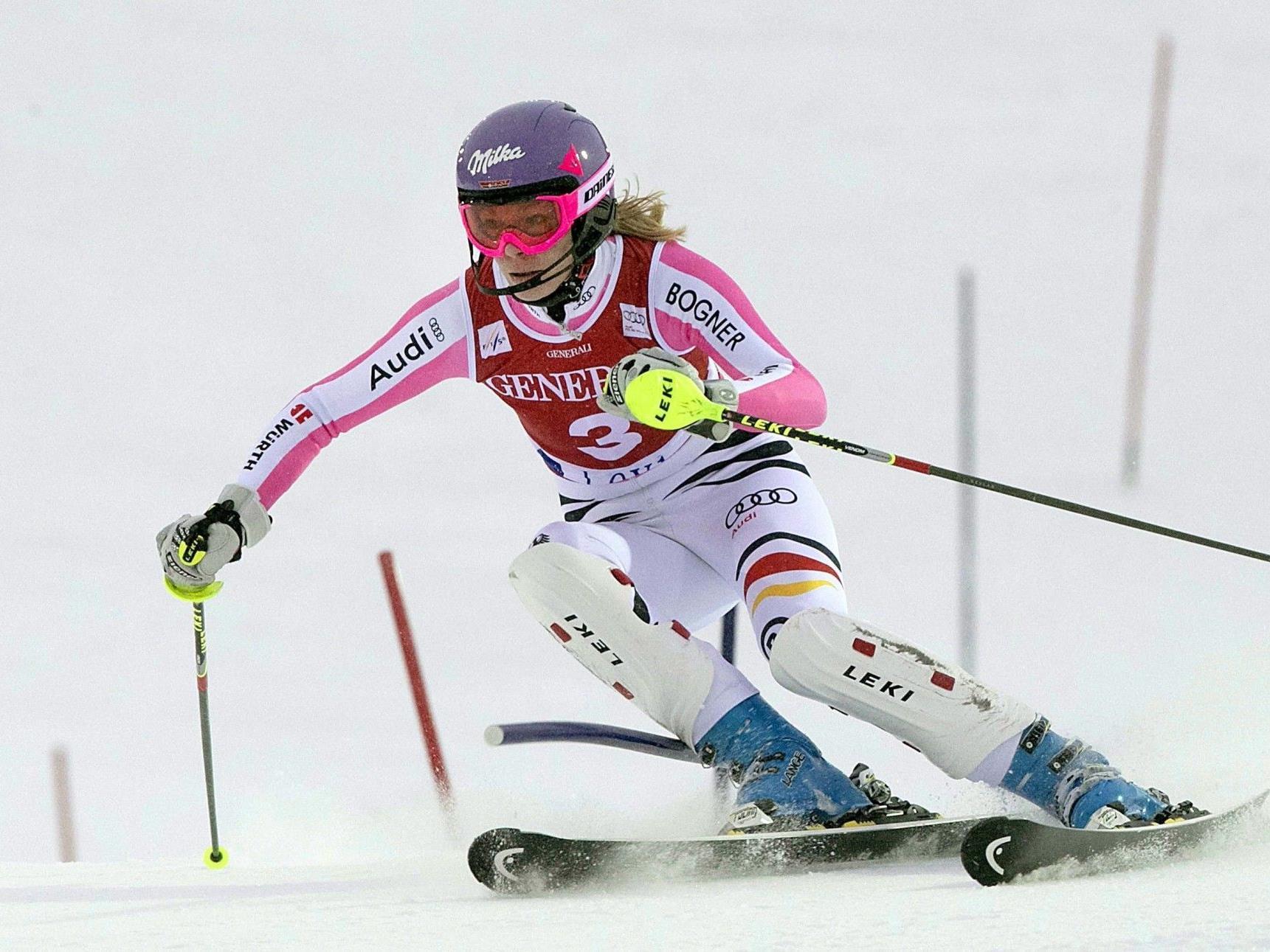 9. Slalom-Erfolg für die Deutsche - Hosp fiel auf Platz 17 zurück - Daum Neunte.