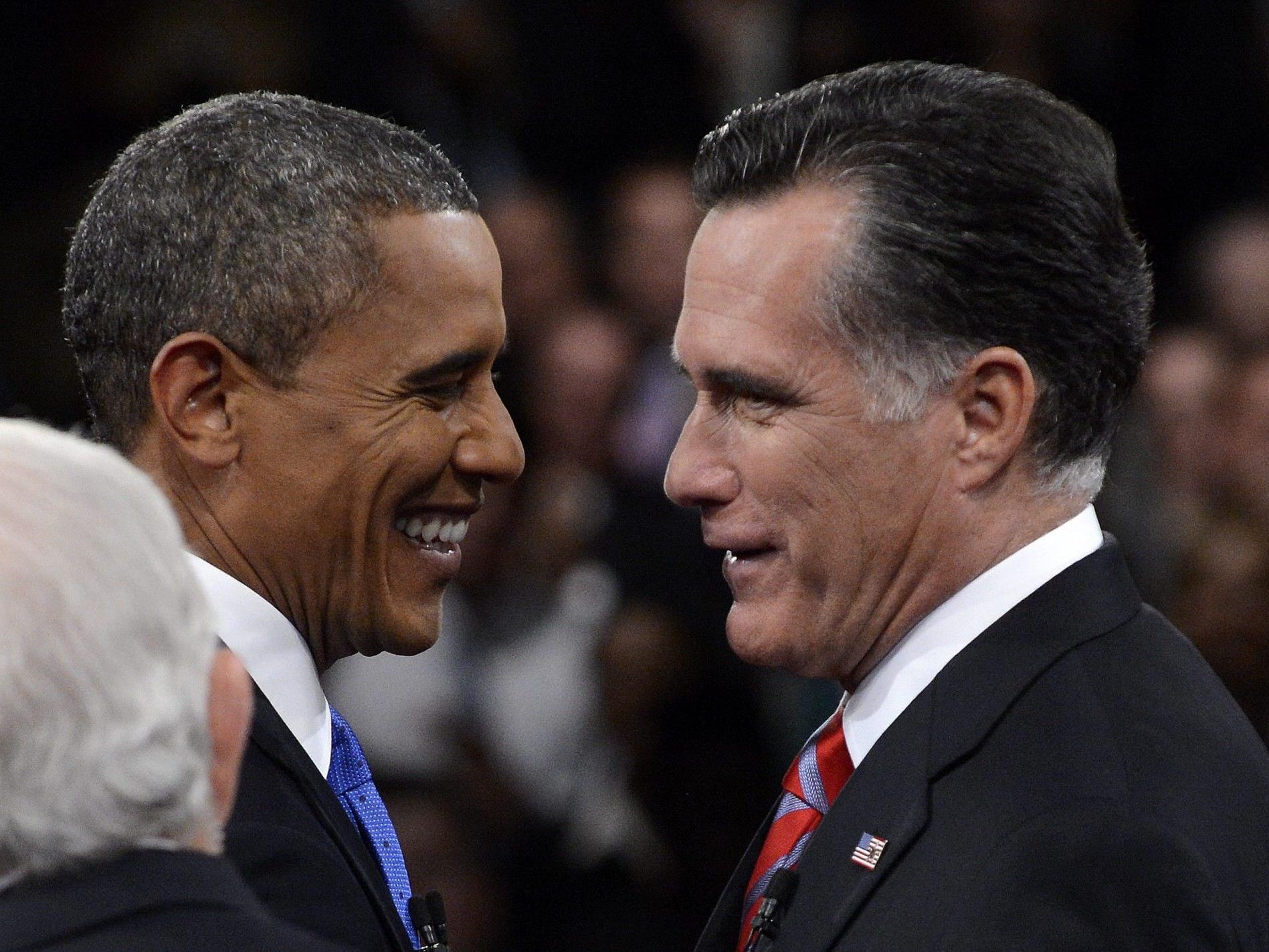 Amtsinhaber Obama laut Umfragen nur knapp voran.