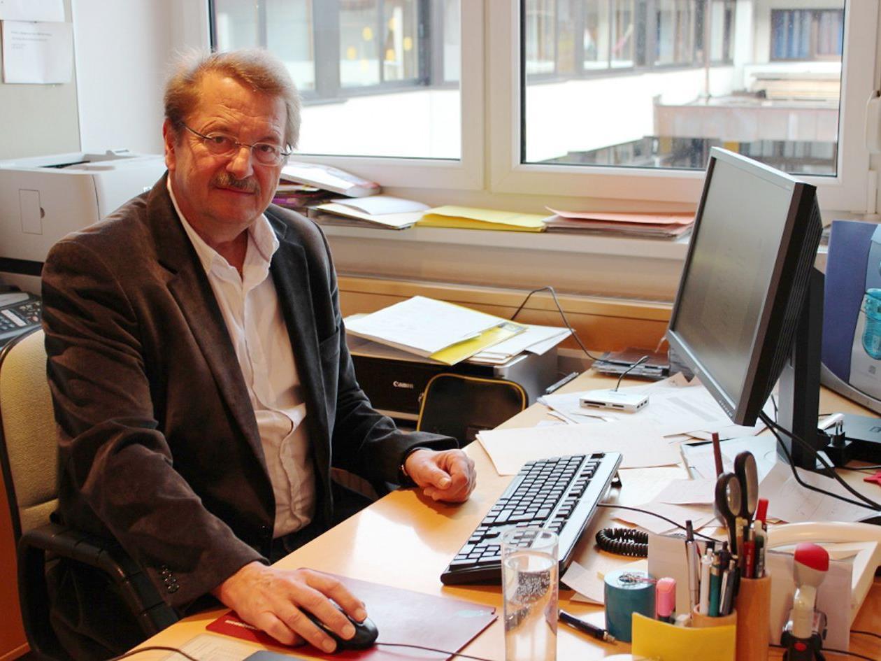 Direktor Ferdinand Orschulik managt das Konzept der neuen Mittelschule in Hittisau.