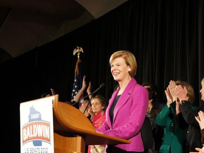 Tammy Baldwin ist die erste bekennende Homosexuelle im US-Senat.