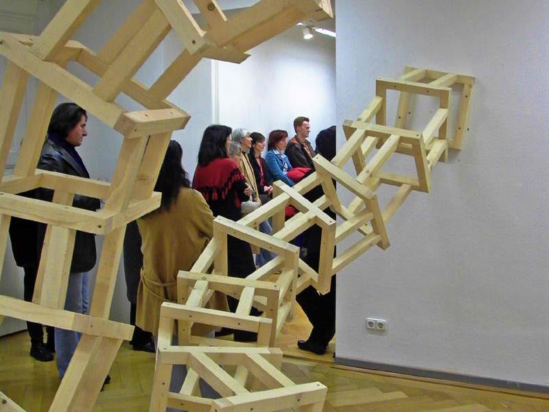 In der Villa Claudia zeigt ab Samstag, 10. November, der in Dornbirn geborene Künstler Oliver Bischof seine neuen Werke