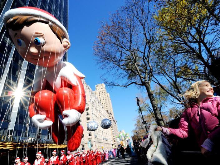 New York feiert Thanksgiving jedes Jahr mit einer großen Parade.