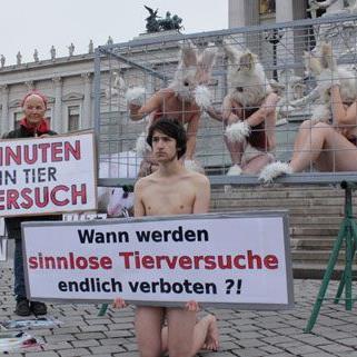 Am Montag hatten Tierschützer vor dem Parlament demonstriert, am Dienstag wurde das neue Gesetz beschlossen.