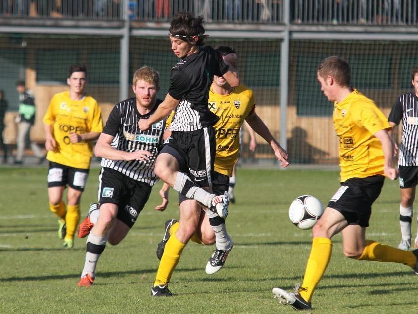 Lukas Jäger war gegen seinen Exklub Alberschwende der Goldtorschütze für Altach Amateure.