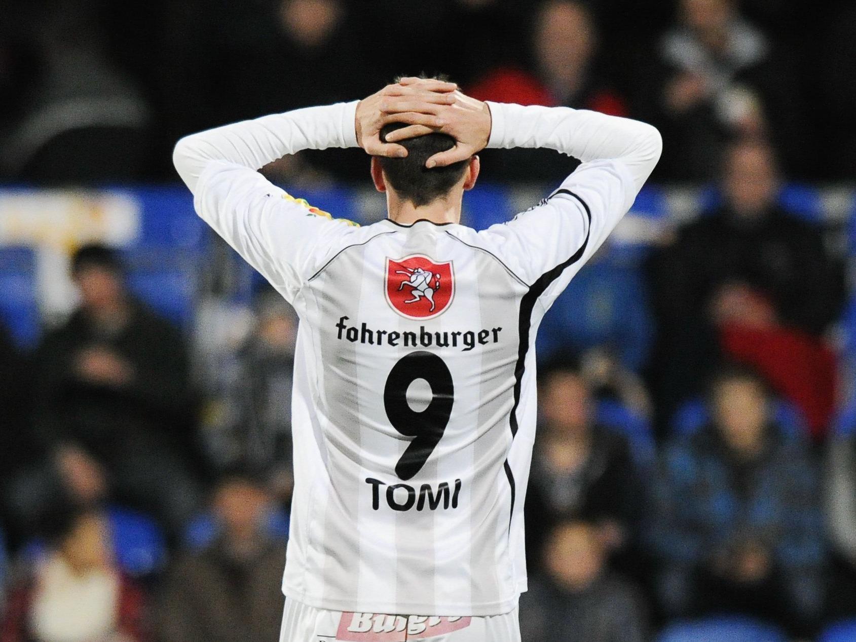 Tomi will endlich wieder jubeln. 2013 will er sein Comeback geben.