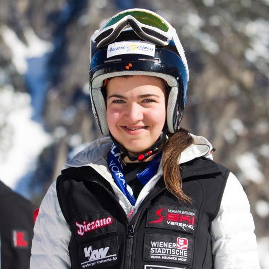 Paulina Wirth wurde ausgezeichnete Dritte in Italien unmittelbar vor der Lecherin Walch.