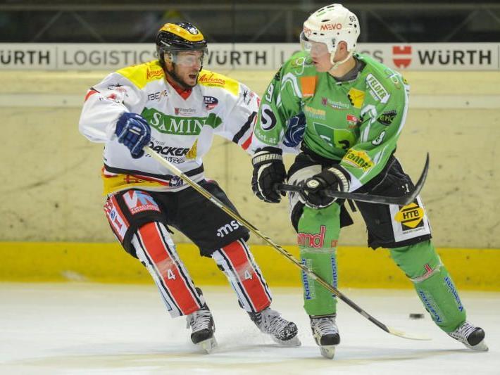 EHC Bregenzerwald gewinnt zum zweiten Mal gegen die VEU Feldkirch.