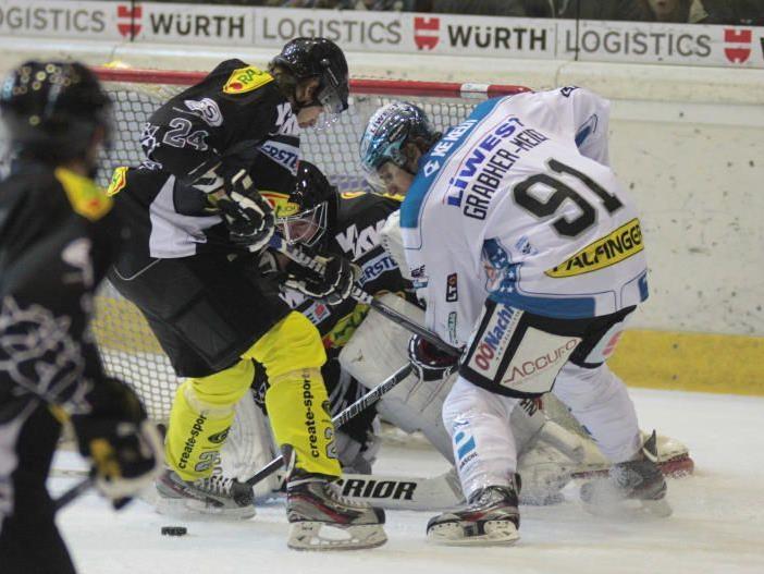 Dornbirn Aufholjagd blieb unbelohnt und der Neuling holte gegen Meister Linz keine Punkte.
