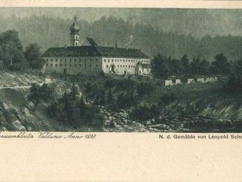 Das Kloster Valduna um 1678 (Gemälde von Leopold Scheel)