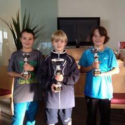 Topplatzierungen erreichten die jungen TCA-Kids beim Heimturnier in Altenstadt.