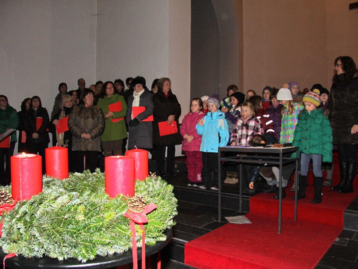 Adventstimmung in der Pfarrkirche Altenstadt
