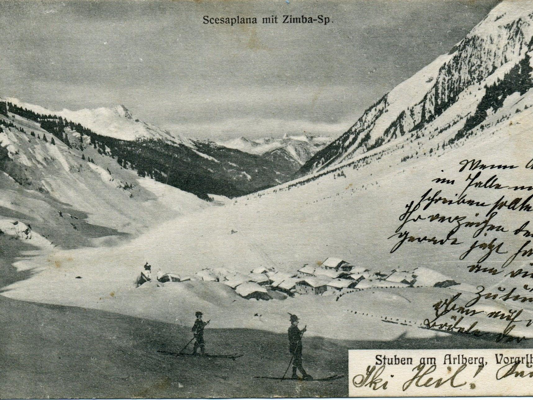 Buchpräsentation Skigeschichte