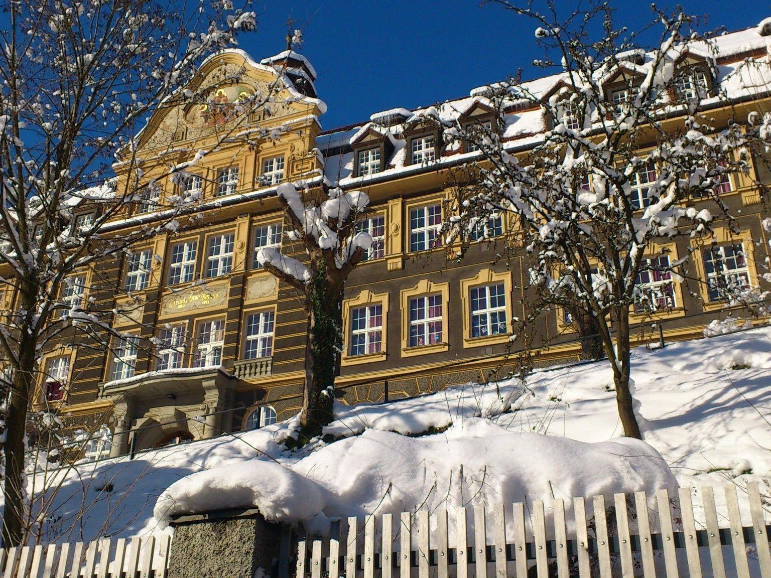 Schule mit Tradition: Institut St. Josef.