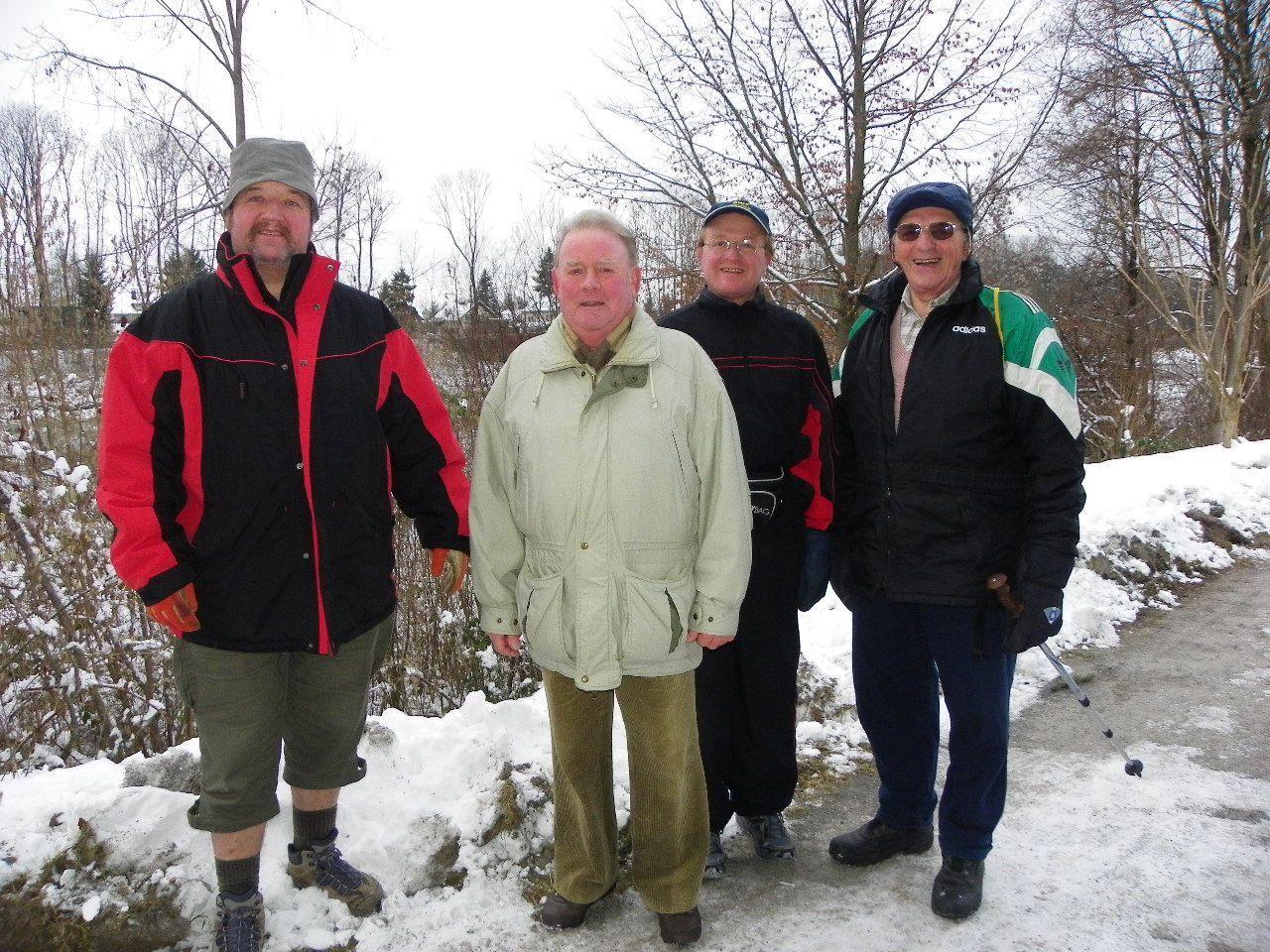 Wanderfreunde aus ganz Österreich kamen nach Bregenz