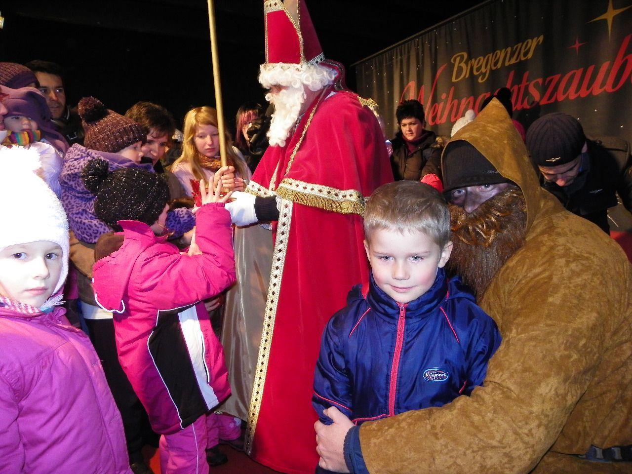 Zahlreiche Kinder freuten sich über Nikolausbesuch