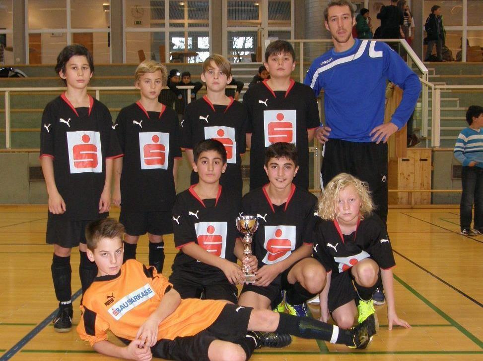 Das Gastgeberteam belegte den dritten Platz.