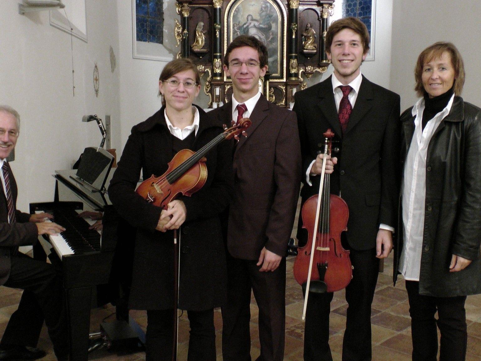 Die Breuss Familie lädt zum Kirchenkonzert nach Weiler.
