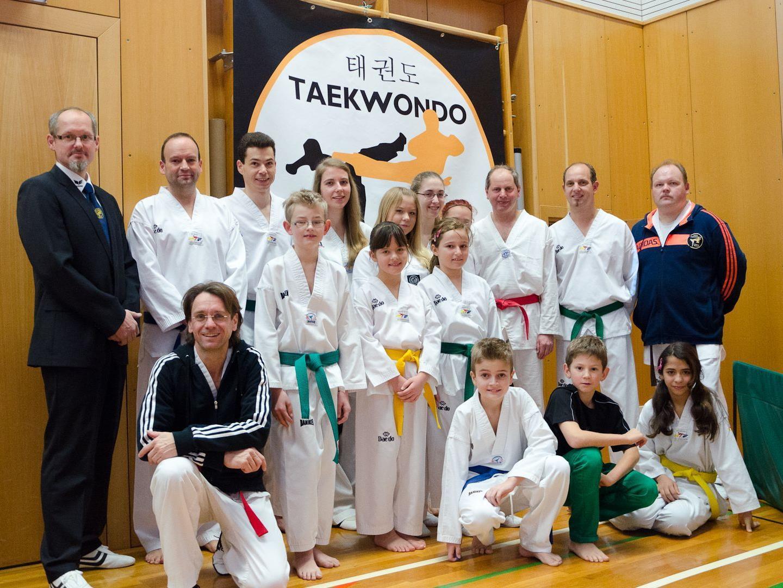 Starter des Taekwondo Vereins Bludenz
