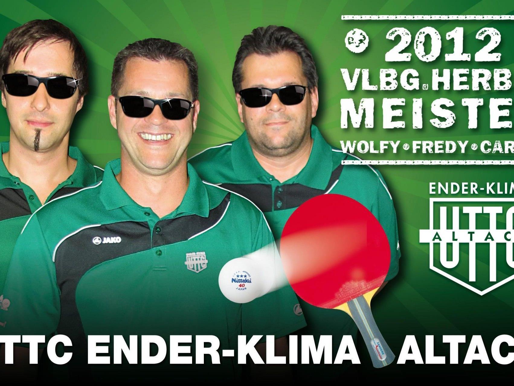 Altach die NUMMER 1 mit Wolfgang Mayer, Fredy Welte und Carlos da Cunha Marques