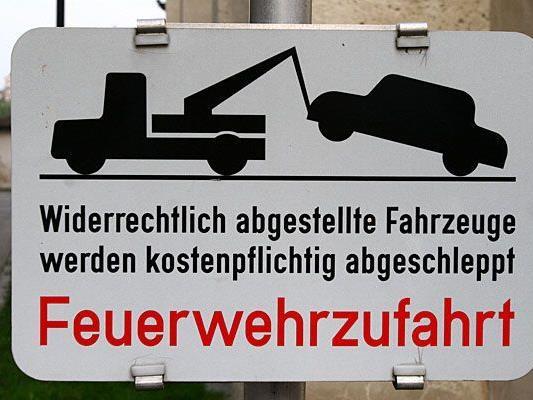 Am 3. Einkaufssamstag wurden 246 Fahrzeuge in Wien abgeschleppt.