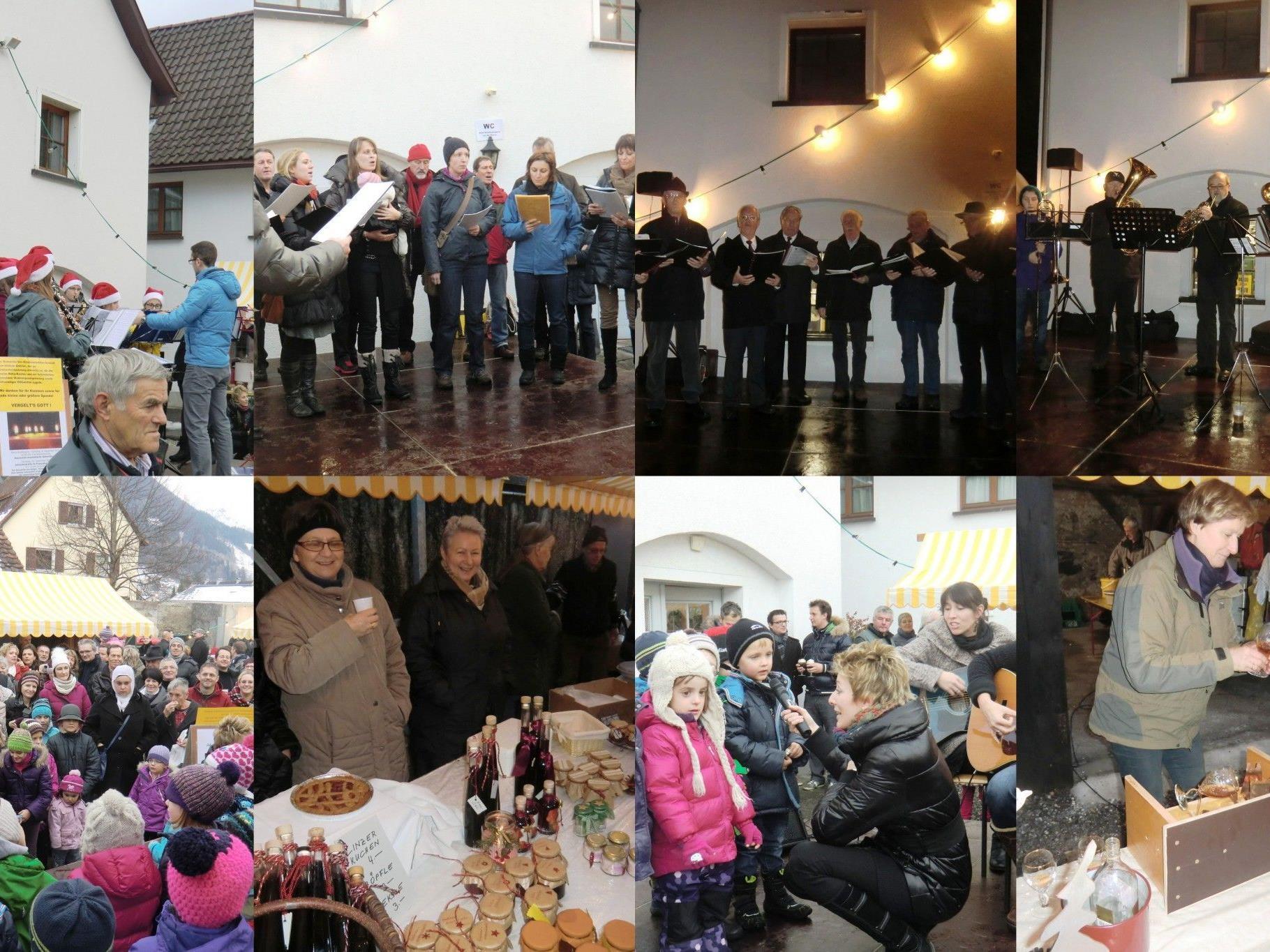 Es war wieder ein wunscherschönes Fest beim 5. Adventmärktle im Franziskanerkloster