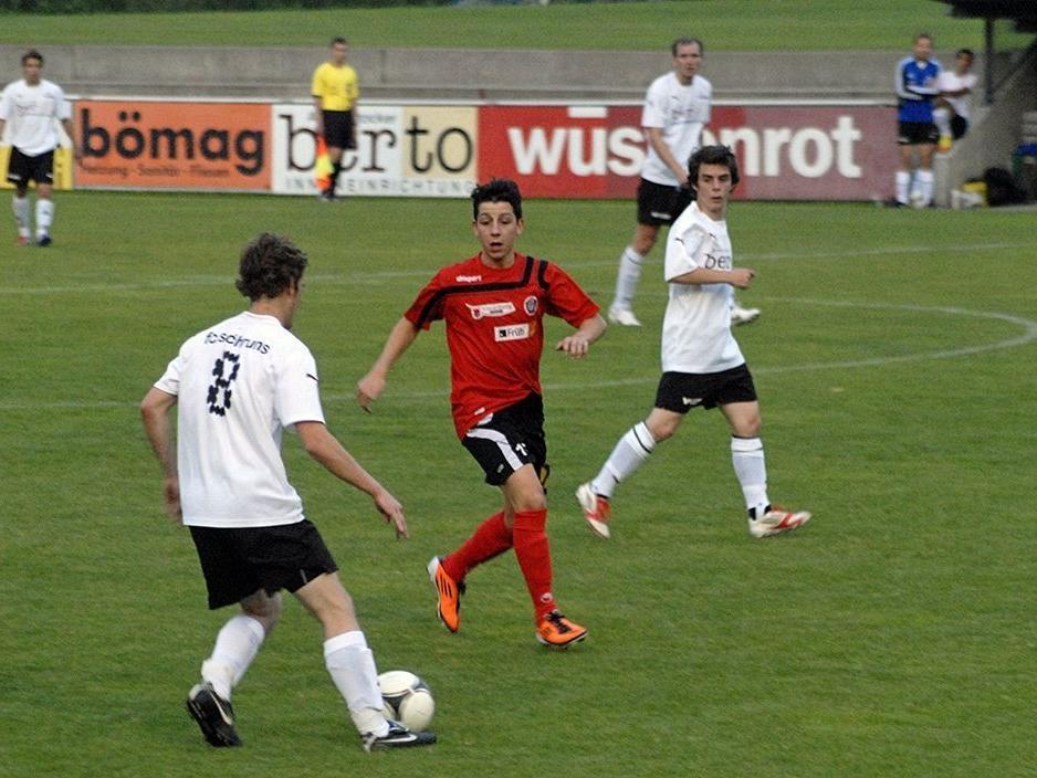 Andreas Schlatter kommt aus Schruns zum SC St.Gallenkirch