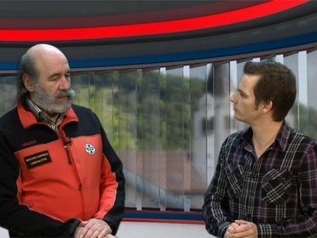 Gebhard Barbisch im Gespräch mit Ländle TV Moderator Philipp Fasser