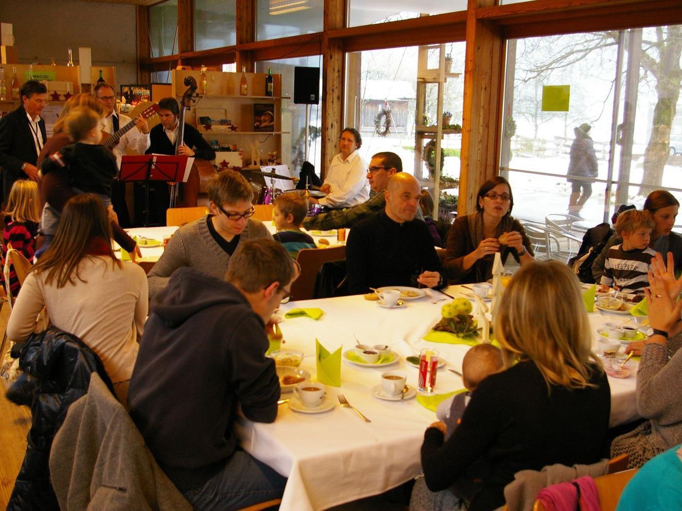 Rund 90 Gäste genossen die dritte Auflage des Biobrunchs.