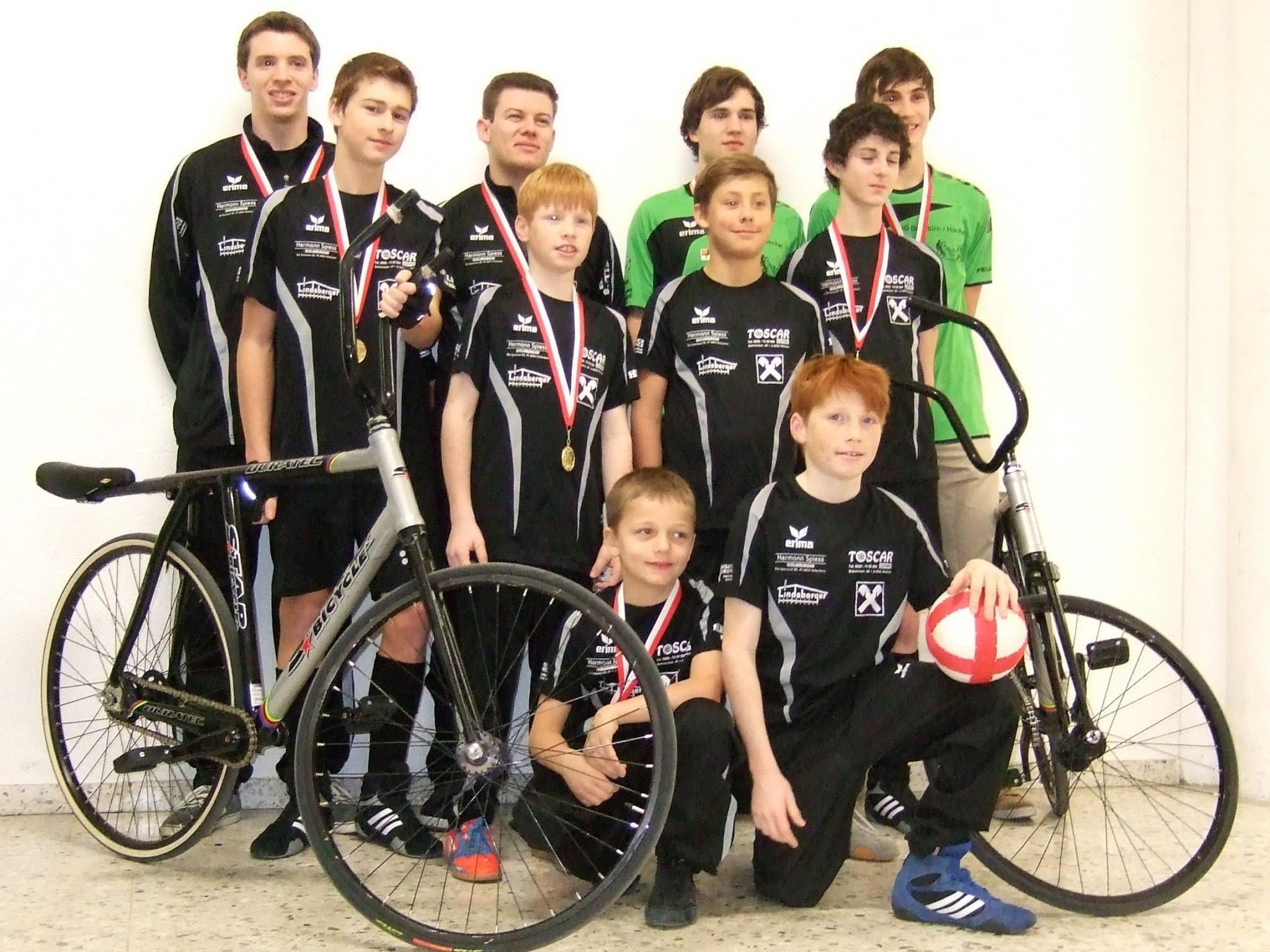 Dornbirns Radballer überzeugten bei der Bodenseemeisterschaft