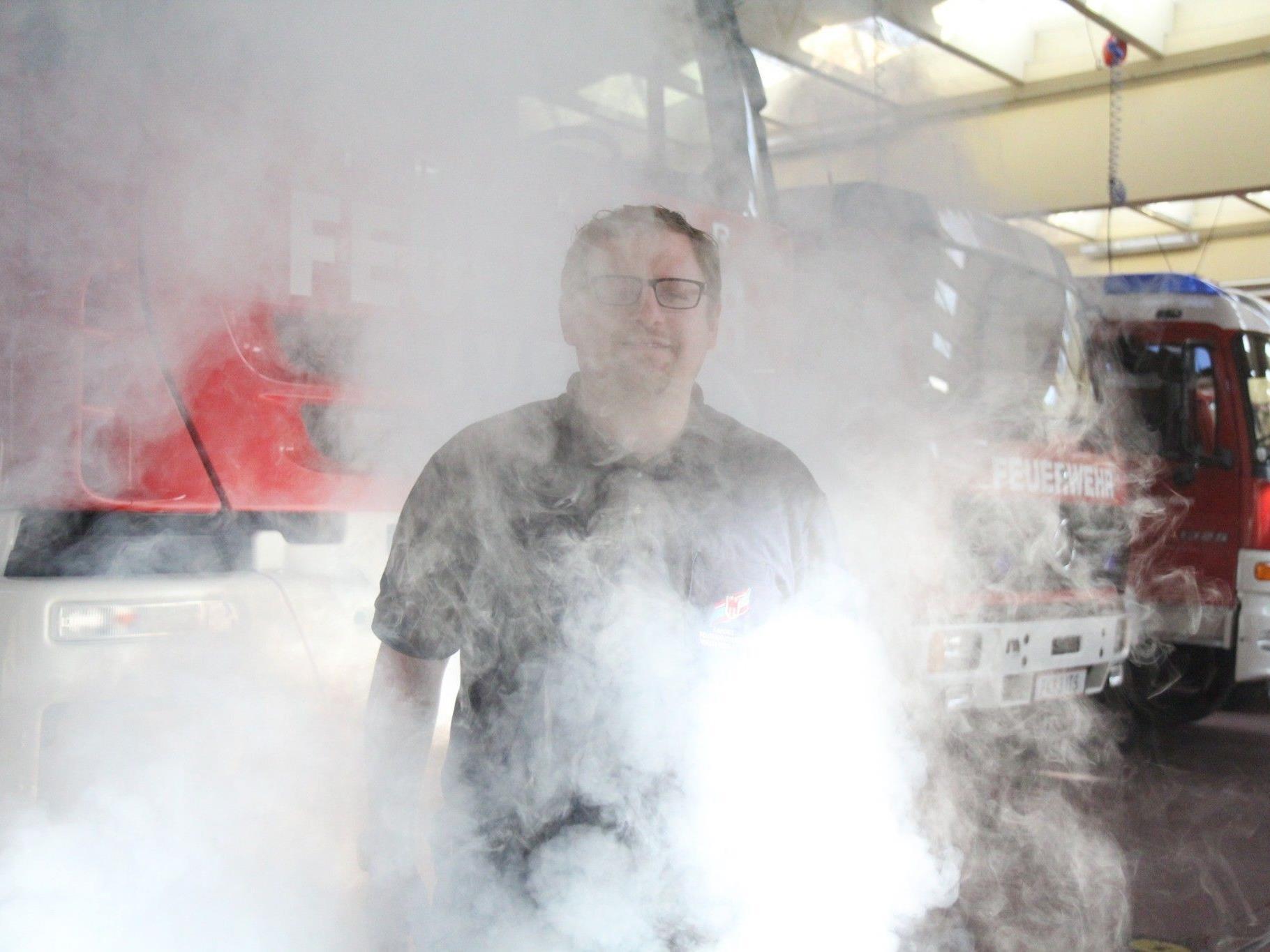 Die meisten Brandopfer sterben am Brandrauch.