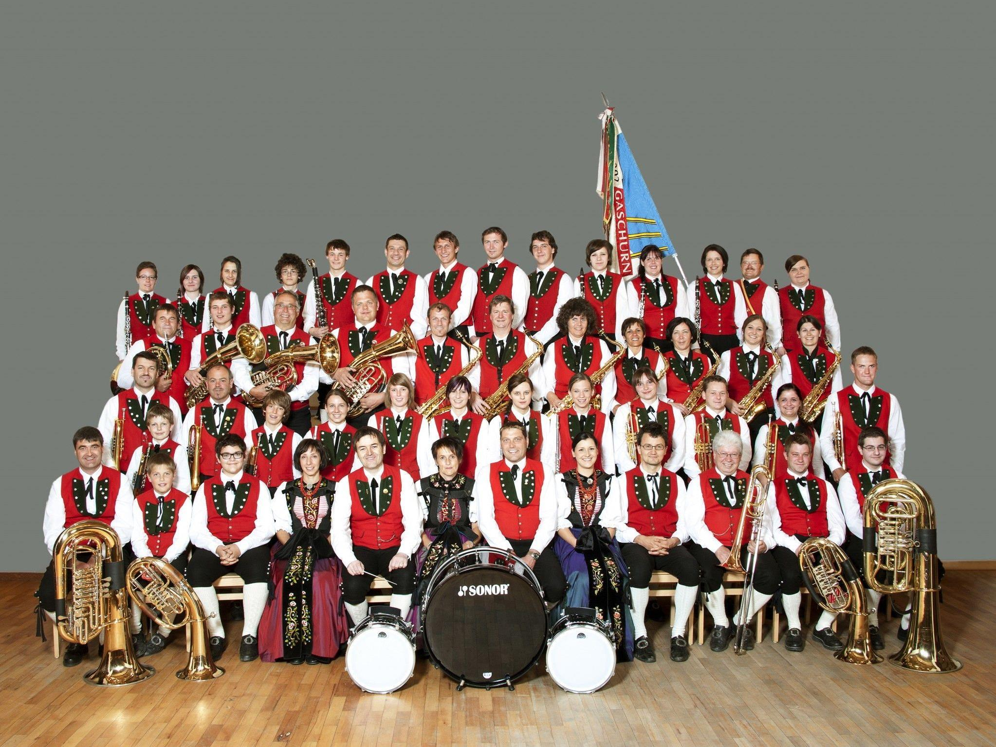 Die Bürgermusik Gaschurn-Partenen lädt zum Jahresabschlusskonzert.