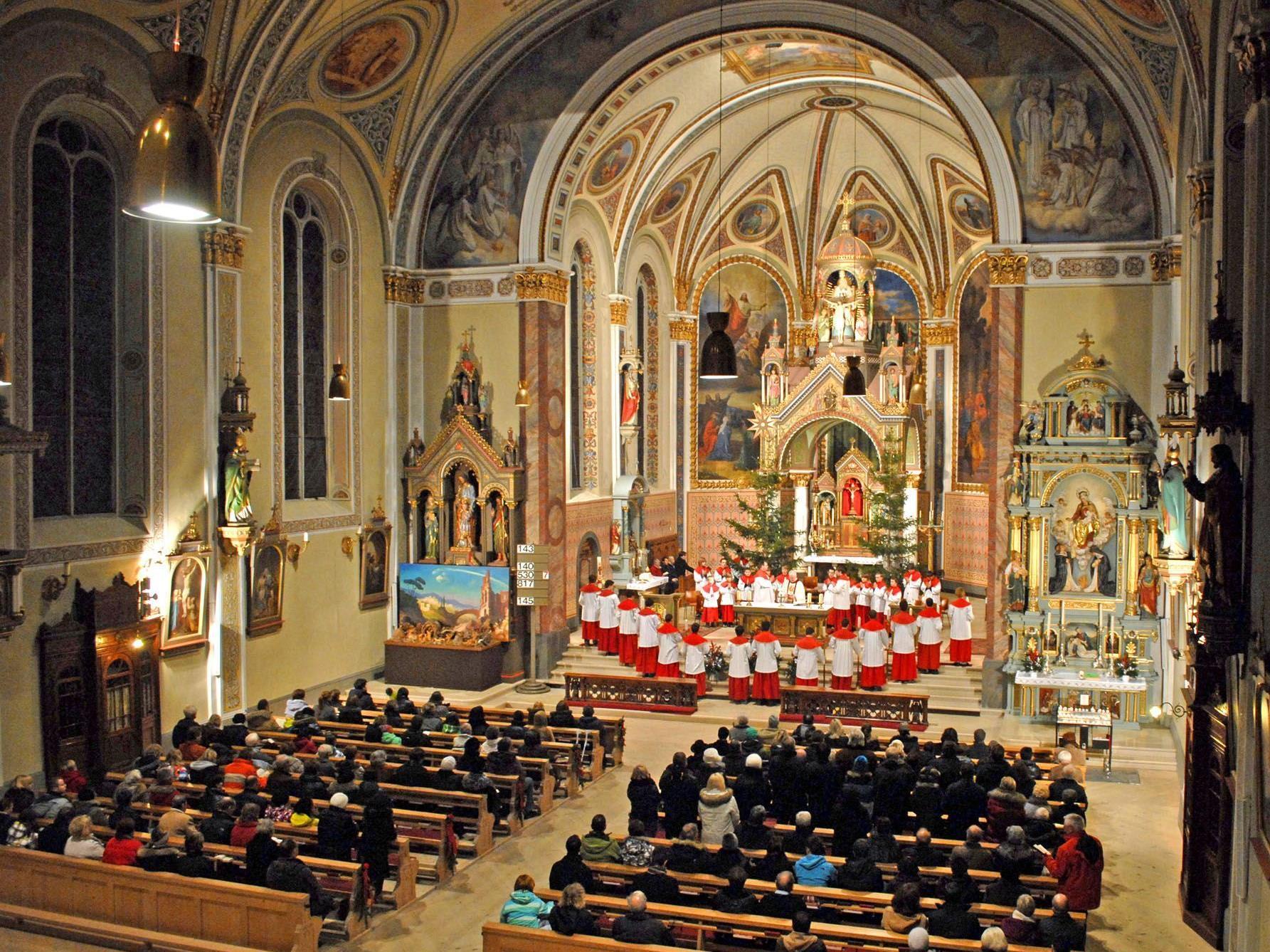Christmette in der Pfarrkirche St. Jodok in Schruns